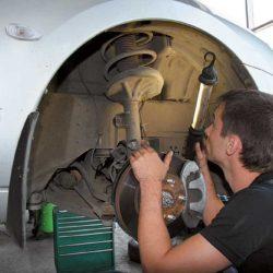 Обслуживание подвески автомобилей