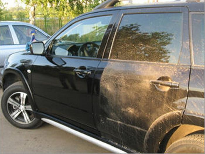 Сухая мойка автомобилей в Саратове   Чистка от грязи без воды