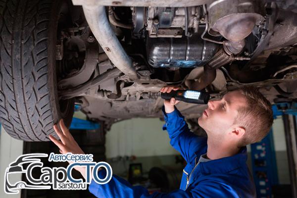 Дефектовка ходовой части автомобиля | Осмотр авто в Саратове