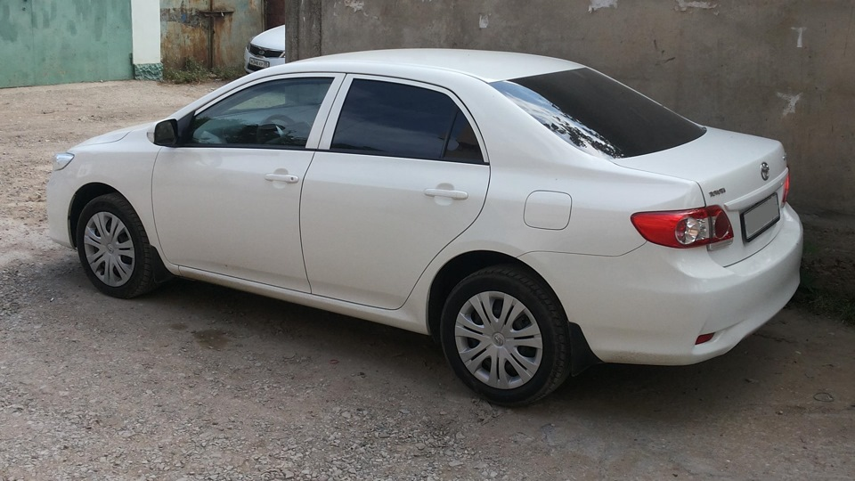 Toyota Corolla - Прайс на работы