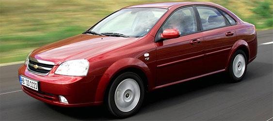 Chevrolet Lacetti - Прайс лист на ремонт
