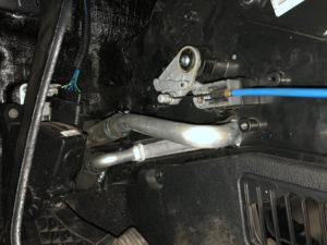 Лада Гранта и Datsun - замена радиатора печки (без снятия панели)