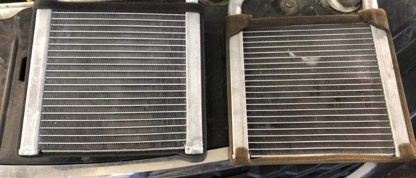 Лада Гранта и Datsun — замена радиатора печки (без снятия панели)